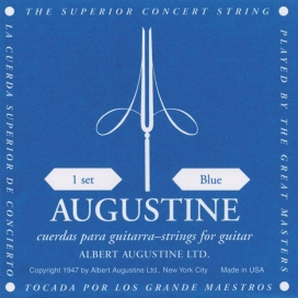 Photo of Albert Augustine Blue Strings