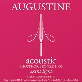 Photo of Augustine Acoustic Guitar Strings