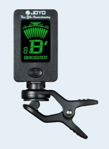 Photo of Joyo Mini Clip-On Chromatic Tuner