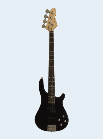 Photo of Maxwell Precision Jazz Style Bass Guitar [Black]