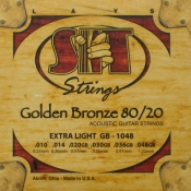 Photo of S.I.T Golden Bronze Acoustic Guitar Strings